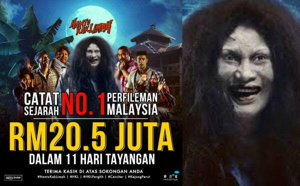 'Hantu Kak Limah' Just Became Malaysia's Highest Grossing Film, Earning RM20.5Mil in 11 Days! - WORLD OF BUZZ