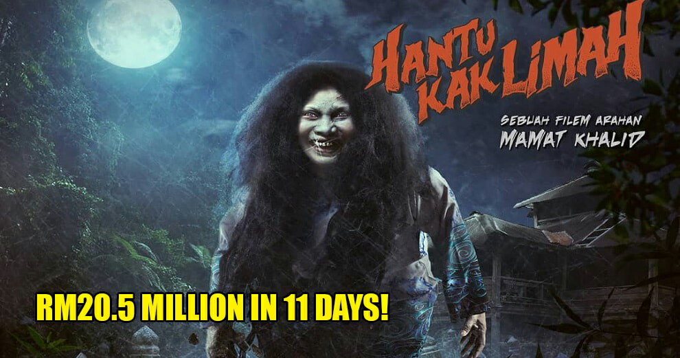'Hantu Kak Limah' Just Made History by Becoming Malaysia's Highest Grossing Film! - WORLD OF BUZZ