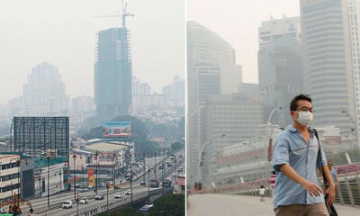 Haze Incoming: Klang Air Pollution Index Already At 65 by 8am Today - WORLD OF BUZZ