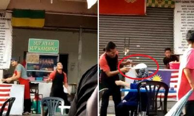 Hilarious Video of Flying Roti Canai Landing on Mak Cik's Head Goes Viral - WORLD OF BUZZ 3