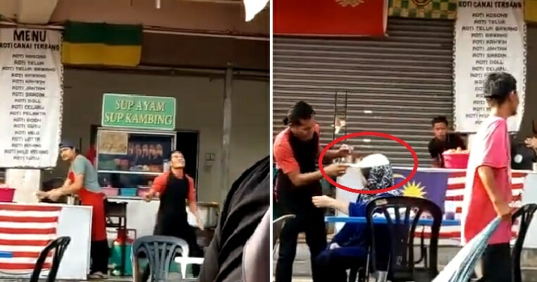 Hilarious Video of Flying Roti Canai Landing on Mak Cik's Head Goes Viral - WORLD OF BUZZ 3