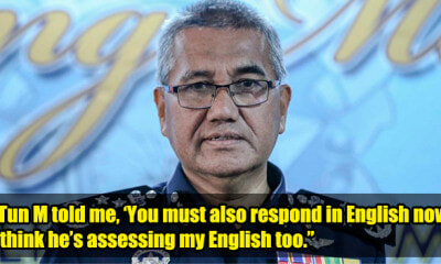 IGP: PDRM Will Begin Using English in Briefings and Daily Operations Starting Today - WORLD OF BUZZ