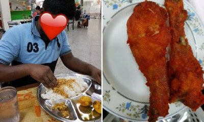 Kind M'sian Buys Fried Chicken for Foreign Worker Who Couldn't Afford a Good Meal - WORLD OF BUZZ 3