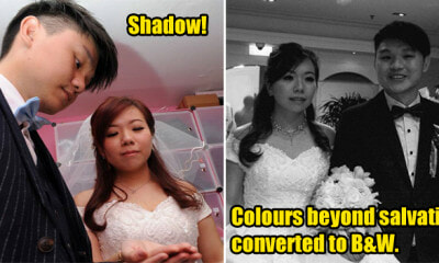 Man Hires Wedding Photographer with RM8,000 And Received Horrible Quality Pictures - WORLD OF BUZZ