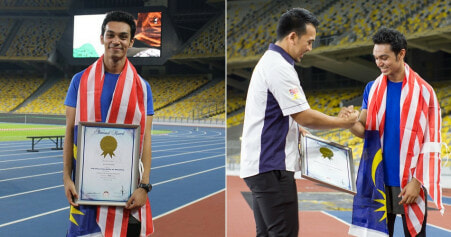 Meet Alvin Netto, The Malaysia Who Ran Backwards to Raise Fund For Charity - WORLD OF BUZZ 10