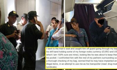 M'sian Catches Thief Red-Handed Stealing His Luggage on Plane, Warns People About Syndicate - WORLD OF BUZZ 1