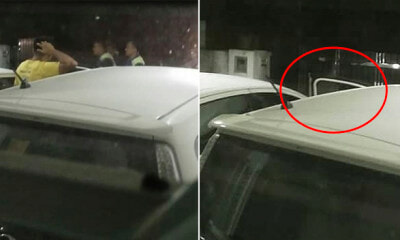 M'sian Man Awakened by Car Alarm at 2am And Saw Car Door Open Through Window - WORLD OF BUZZ