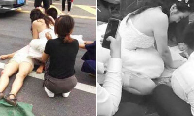 Nurse Stops to Give CPR to Accident Victim While on The Way to Her Own Wedding - WORLD OF BUZZ 2