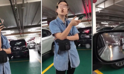 Parking Lot Stand Off In Midvalley Megamall! - WORLD OF BUZZ