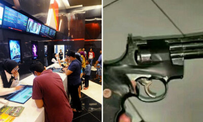 "PM's Protection Division Officer Pointed Gun at Cinema Worker in Bandar Utama, Claimed He Was a ""Top Gangster"" - WORLD OF BUZZ 2"