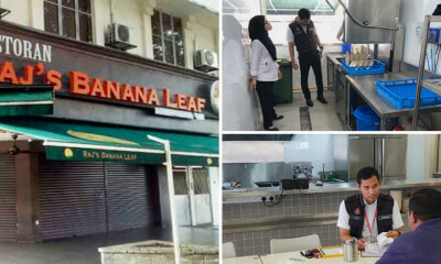 Raj's Banana Leaf is Reopening As RBL Banana Leaf on 29th Aug After Passing Inspections - WORLD OF BUZZ