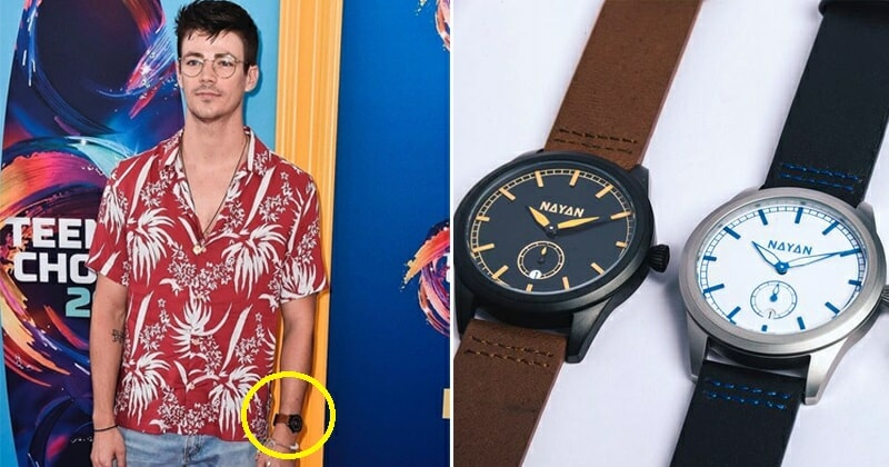 Sabahan Watch Brand Spotted on Wrist of 'The Flash' Actor At Teen Choice Awards - WORLD OF BUZZ