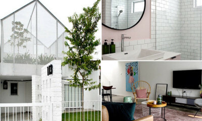 This Old Single-Storey Terrace House in TTDI Got A Complete Makeover & is Now Our #HouseGoals - WORLD OF BUZZ 2