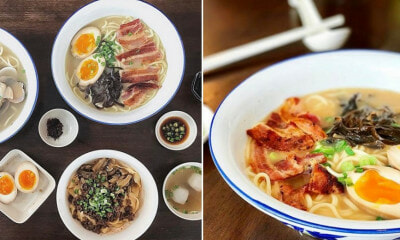 This Restaurant in George Town Serves Bacon Pan Mee And We Can't Stop Drooling! - WORLD OF BUZZ 1