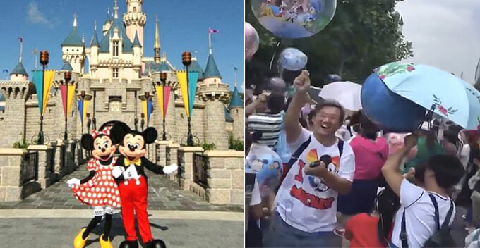 Watch How Tourists Rob Disneyland Staff of Balloons Because They Are Too Expensive - WORLD OF BUZZ