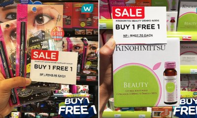 Watsons Malaysia is Having A Buy 1 Free 1 Mega Sale for The Whole Month of August! - WORLD OF BUZZ 5