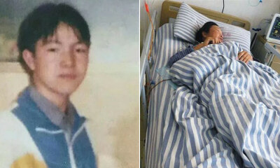 After Dying Mother Refuses Cancer Treatment Until She Sees Her Long Lost Son - WORLD OF BUZZ