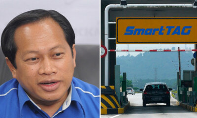 Ahamd Maslan Urges M'sians to Ram Through Toll Gate Since PH Did Not Abolish Them - WORLD OF BUZZ