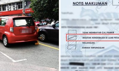 Driver Shocked That Her Car Got Clamped Despite Parking in a Bay & Paying for Ticket - WORLD OF BUZZ