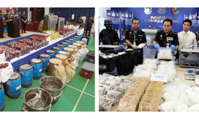 Drugs Worth 72.5 Million Seized In Penang's High-Volume Drug Factory - WORLD OF BUZZ 3