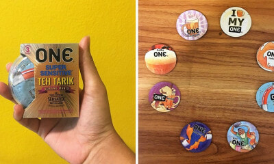 First Nasi Lemak & Durian, Now There's A Limited Edition Teh Tarik Condom on The Market! - WORLD OF BUZZ 3