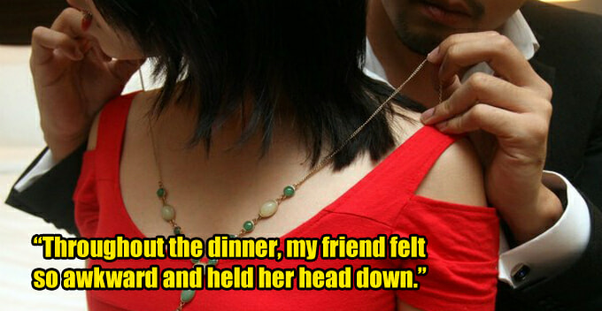 Girl Agrees to Have Dinner With BF's Family, Discovers the Father to Be Her Sugar Daddy - WORLD OF BUZZ