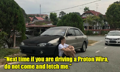 Girl Refuses to Get In Car After Discovering M'sian Guy Drives a Proton Wira - WORLD OF BUZZ