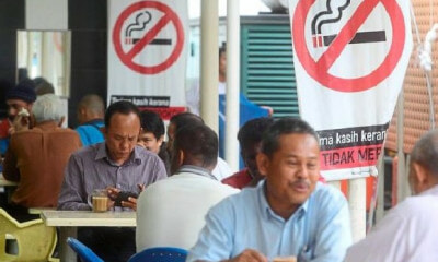 Govt Wants Open-Air Eateries to Be No-Smoking Zones Starting December 2018 - WORLD OF BUZZ 3