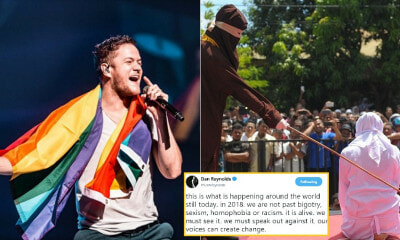 Imagine Dragons' Lead Vocalist Calls Public to Speak Out Against Public Caning in Terengganu - WORLD OF BUZZ