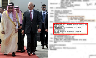 Najib Pulls Out Receipts Proving Saudi King Donated RM415 Million to Him - WORLD OF BUZZ 3