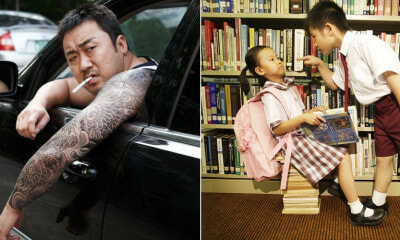 Parents in S.Korea Are Now Hiring 'Scary Uncles' to Protect Their Child From Mean Bullies - WORLD OF BUZZ