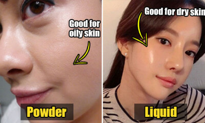 Powder vs. Liquid Foundation: What's the Difference & Which Should M'sians Use? - WORLD OF BUZZ 6