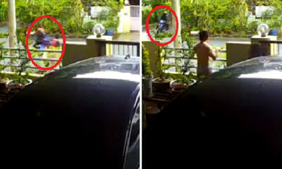 Snatch Thieves Hit and Rob Young Lady in Broad Daylight at Penang Residential Area - WORLD OF BUZZ 3