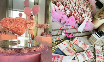 Sweet BF Makes Gifts for GF Using RM200,000 Cash, Bank Blames Him for Ruining Currency - WORLD OF BUZZ