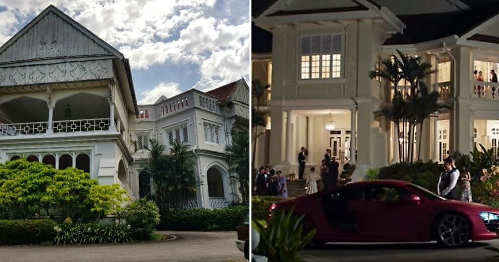 The Crazy Rich Asians Crew Actually Helped with Restoration Works on Carcosa Seri Negara During Filming - WORLD OF BUZZ