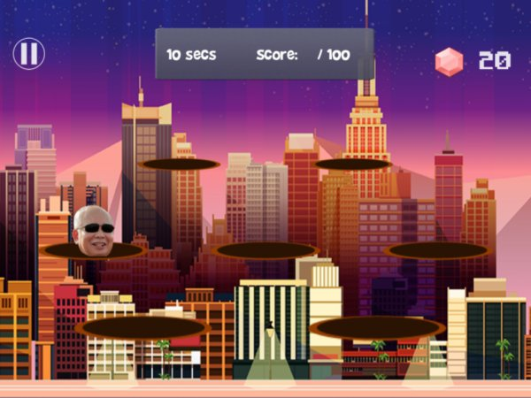 "There's A Mobile Game Called ""Where is Najib?"" That Lets You Throw Pink Diamonds at Him - WORLD OF BUZZ 1"