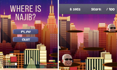 "There's A Mobile Game Called ""Where is Najib?"" That Lets You Throw Pink Diamonds at Him - WORLD OF BUZZ 4"