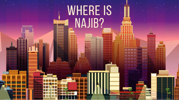 "There's A Mobile Game Called ""Where is Najib?"" That Lets You Throw Pink Diamonds at Him - WORLD OF BUZZ"