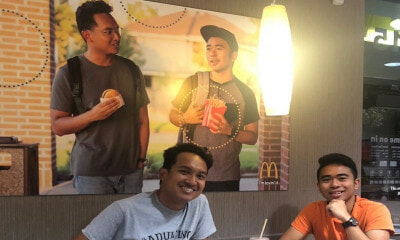 These Guys Put Up A Fake Poster Of Themselves at McD & It's Still Up, Here's How They Did It - WORLD OF BUZZ 1