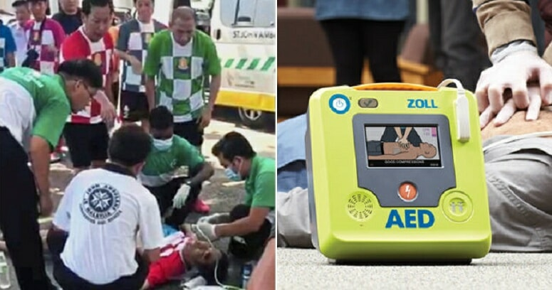 This Man Was About to Die But 5 High School Students Saved Him With CPR & AED - WORLD OF BUZZ