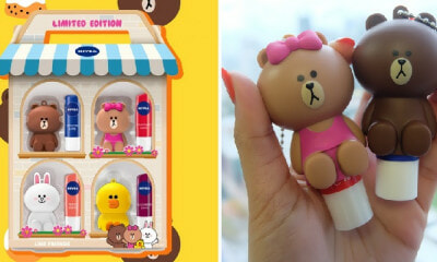 This Nivea Lip Balm From Watsons Malaysia Comes with a FREE Adorable LINE Friends Lip Holder! - WORLD OF BUZZ 11