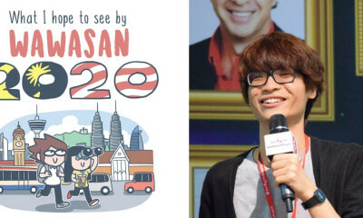 This Talented M'sian Illustrator Shows Us What He Wants Wawasan 2020 To Look Like! - WORLD OF BUZZ 11