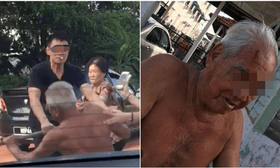 Watch: Man Brutally Beats Old Uncle For Telling Him To Park Somewhere Else - WORLD OF BUZZ
