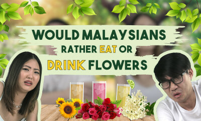 Would Malaysians Rather Eat or Drink Flowers? - WORLD OF BUZZ