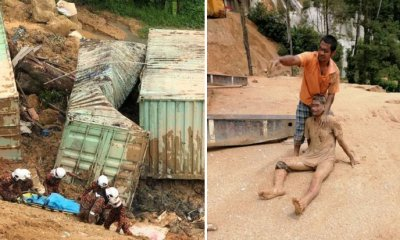 3 Foreign Workers Living in Containers Die in Penang Landslide, 12 Still Missing - WORLD OF BUZZ 2