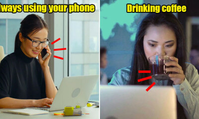 6 Little Things Almost Every Female Does at Work That Harms the Body - WORLD OF BUZZ 23