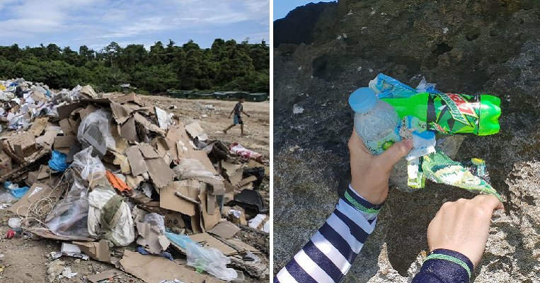 Boracay Littered With Garbage Just One Day After Reopening By Irresponsible Tourists - WORLD OF BUZZ 1