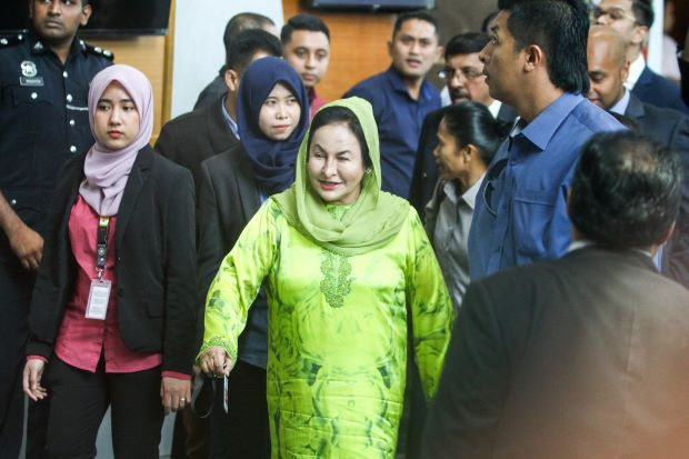 BREAKING: Rosmah Mansor Arrested by MACC And Will Be Charged For Money Laundering - WORLD OF BUZZ