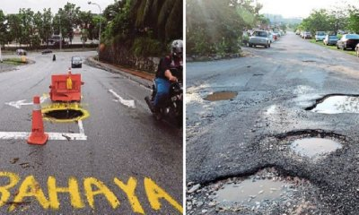 Companies Can Be Fined RM100,000 For Causing Potholes and Damages on Roads - WORLD OF BUZZ 3