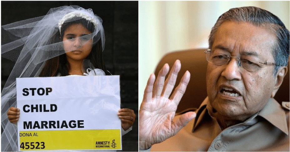 DR M: All States To Raise Minimum Marriage Age To 18 - WORLD OF BUZZ 2